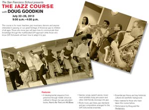 The Jazz Course Brochure